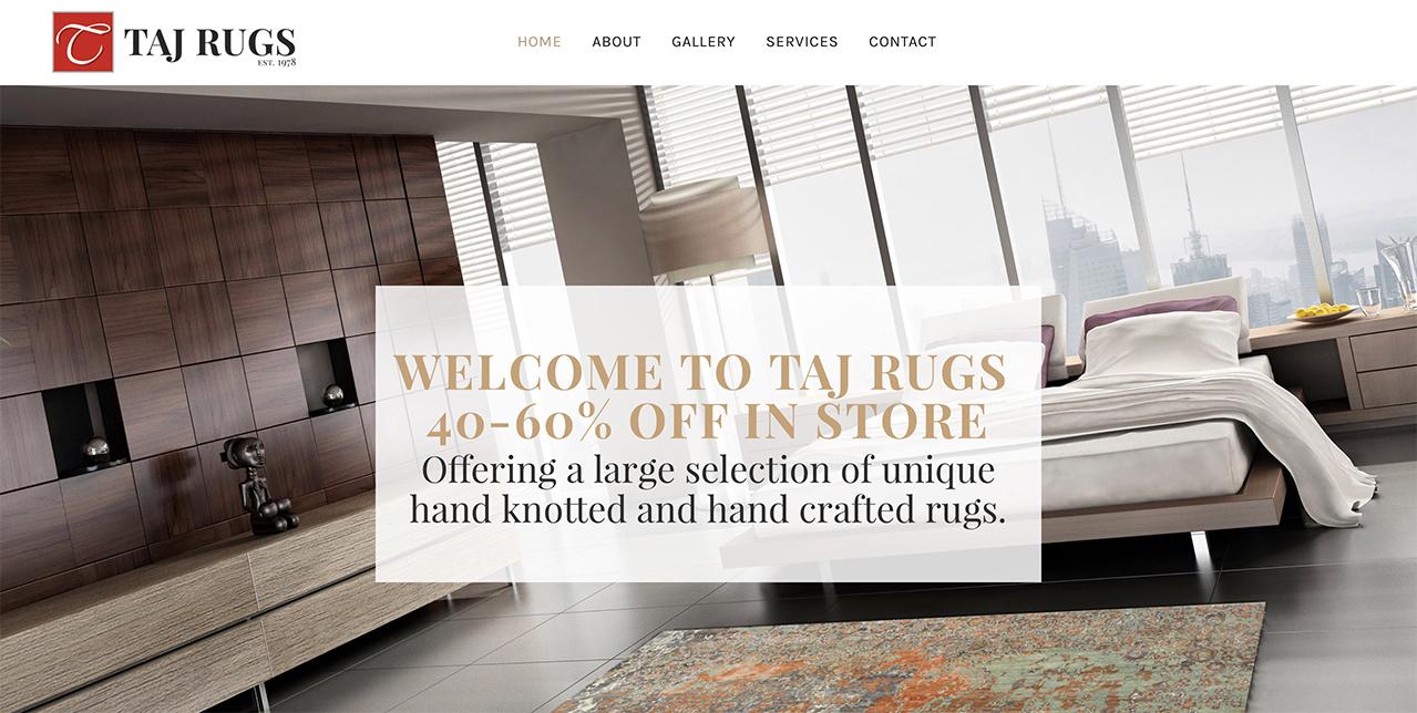 Taj Rugs | Markham, Mississauga, Stoney Creek, Toronto & GTA